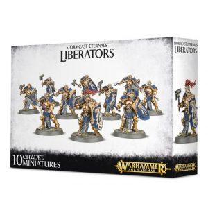 Games Workshop Age of Sigmar  Stormcast Eternals Stormcast Eternals Liberators - 99120218014 - 5011921079261
