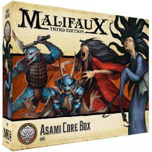 Wyrd Malifaux  Ten Thunders Asami Core Box - WYR23715 - 812152030985