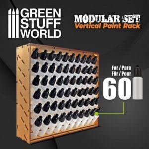 Green Stuff World   Paint Racks Modular Paint Rack - VERTICAL - 8435646500591ES - 8435646500591