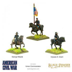 Warlord Games (Direct) Black Powder Epic Battles  Black Powder Epic Battles Epic Battles: American Civil War Union Command - 315114016 -