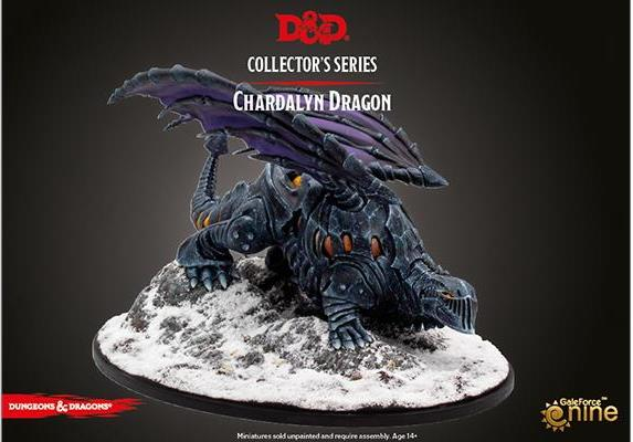 Gale Force Nine Dungeons & Dragons  D&D Miniatures D&D: Icewind Dale: Rime of the Frostmaiden - Chardalyn Dragon - GFN71126 - 9420020250994