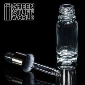 Green Stuff World   Green Stuff World Tools Empty Glass Jar with Pipette - 8436574502596ES - 8436574502596