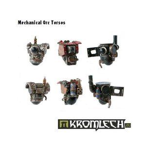 Kromlech   Orc Conversion Parts Mechanical Torsos (6) - KRCB004 - 5902216110038