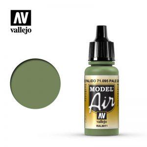 Vallejo   Model Air Model Air: Pale Green - VAL095 - 8429551710954