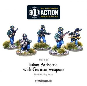 Warlord Games Bolt Action  Italy (BA) Italian Airborne with German Weapons - WGB-IA-23 - 5060200848869