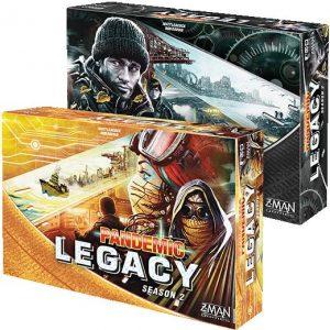 Z-Man Games Pandemic  Pandemic YELLOW - Pandemic Legacy Season 2 - ZMG71173 - 841333103309