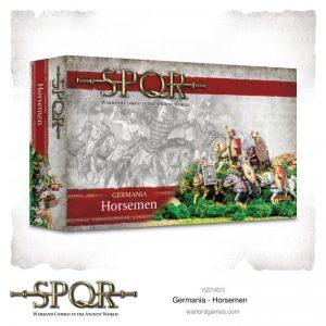 Warlord Games SPQR  SPQR SPQR: Germania Horsemen - 152214013 - 5060572505315