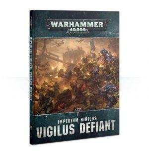 Games Workshop (Direct) Warhammer 40,000  Warhammer 40000 Essentials Imperium Nihilus: Vigilus Defiant - 60040199096 - 9781788263818