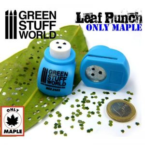 Green Stuff World   Stamps & Punches Miniature Leaf Punch MEDIUM BLUE - 8436554364152ES - 8436554364152