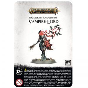 Games Workshop Age of Sigmar  Soulblight Gravelords Soulblight Gravelords Vampire Lord - 99070207014 - 5011921138982