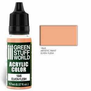 Green Stuff World   Acrylic Paints Acrylic Color ELVEN FLESH - 8436574502046ES - 8436574502046