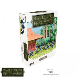 Warlord Games Warlord of Erehwon  Warlords of Erehwon Warlords of Erehwon: Ninjas - 693015003 - 5060572504707