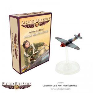 Warlord Games Blood Red Skies  Blood Red Skies Blood Red Skies: Lavochkin La-5 Ace Ivan Kozhedub - 772211011 - 5060572503656