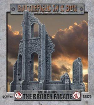 Gale Force Nine   Battlefield in a Box Gothic Battlefields: The Broken Facade - BB525 - 9420020216549