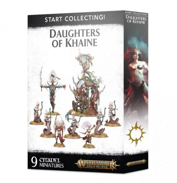 Games Workshop Age of Sigmar  Daughters of Khaine Start Collecting! Daughters of Khaine - 99120212022 - 5011921116591