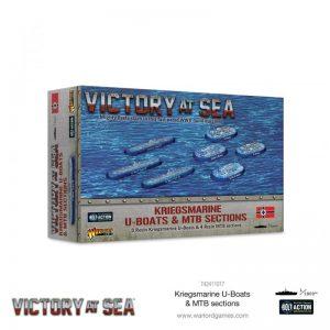 Warlord Games Victory at Sea  Victory at Sea Victory at Sea: Kriegsmarine U-Boats & MTB sections - 742411017 - 5060572506848