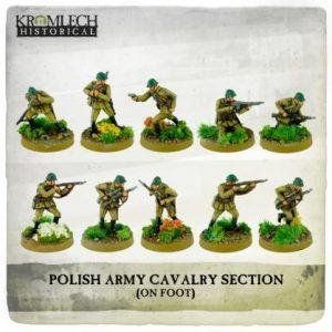 Kromlech   Kromlech Historical Polish Army Cavalry Section on foot (10) - KHWW2028 - 5902216117693