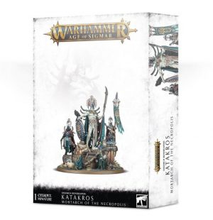 Games Workshop Age of Sigmar  Ossiarch Bonereapers Ossiarch Bonereapers Katakros, Mortarch of the Necropolis - 99120207076 - 5011921126330