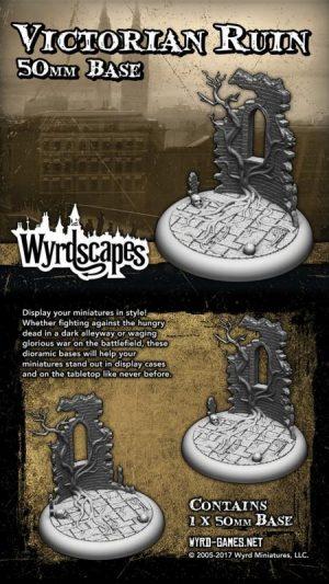 Wyrd   Victorian Bases Wyrdscapes Victorian 50mm Base - WYRWS003 - 813856018538
