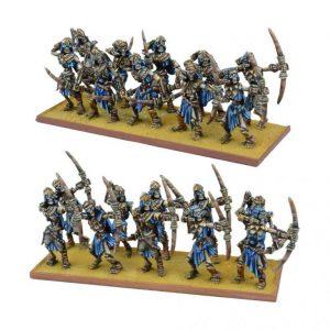 Mantic Kings of War  Empire of Dust Empire of Dust Skeleton Archer Regiment - MGKWT302 - 5060469660196