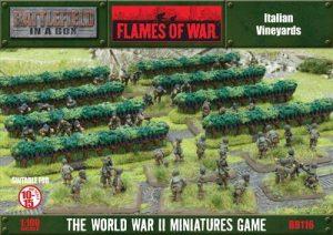 Gale Force Nine   Battlefield in a Box Flames of War: Italian Vineyards - BB116 - 9420020215290