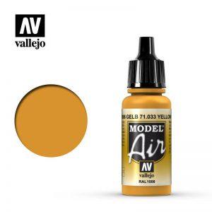 Vallejo   Model Air Model Air: Yellow Ochre - VAL033 - 8429551710336