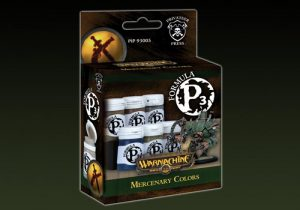 Privateer Press   Paint Sets P3 Paint Set: Mercenary - PIP93005 - 875582003431