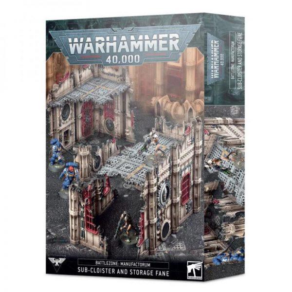 Games Workshop   40k Terrain Battlezone Manufactorum: Sub-Cloister & Storage Fane - 99120199077 - 5011921144143