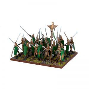 Mantic Kings of War  Elf Armies Elf Tallspears Regiment - MGKWE22-1 - 5060208860078