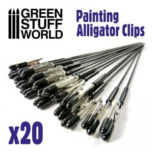 Green Stuff World   Airbrushes & Accessories Alligator Clips x20 - 8436574509625ES - 8436574509625