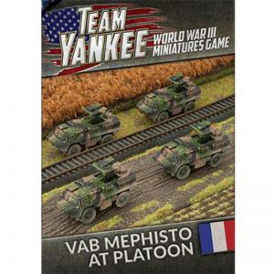 Battlefront Team Yankee  SALE! VAB Mephisto Anti Tank Platoon - TFBX04 - 9420020239418