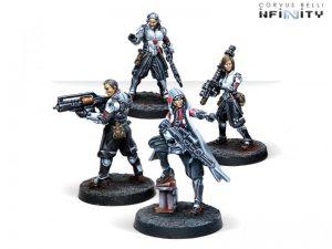 Corvus Belli Infinity  Non-Aligned Armies - NA2 Keisotsu Butai - 280730-0718 - 2807300007184