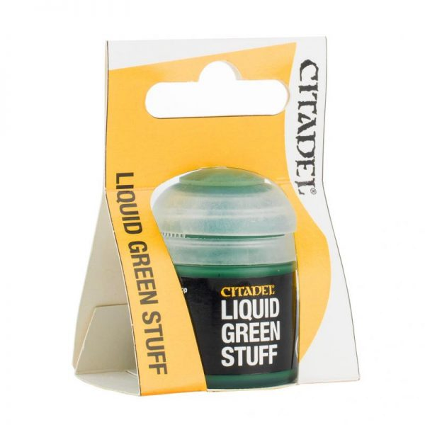 Games Workshop   Citadel Technical Technical: Liquid Green Stuff - 99219999035 - 5011921069361