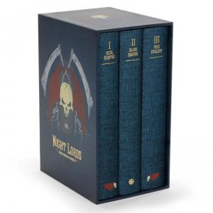 Games Workshop (Direct)   Warhammer 40000 Books Night Lords Collector's Edition - 60040181748 - 9781789998528