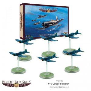 Warlord Games Blood Red Skies  Blood Red Skies Blood Red Skies: F4U Corsair Squadron - 772211006 - 5060572502925