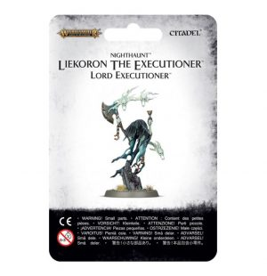 Games Workshop (Direct) Age of Sigmar  Nighthaunts Nighthaunt Liekoron The Executioner - 99070207008 - 5011921100842