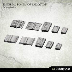 Kromlech   Imperial Guard Conversion Parts Imperial Books of Salvation (10) - KRCB179 - 5902216115149