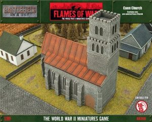 Gale Force Nine   Battlefield in a Box Flames of War: Caen Church - BB208 - 9420020231559