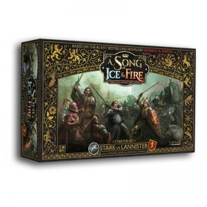 Cool Mini or Not A Song of Ice and Fire  A Song of Ice and Fire Essentials A Song of Ice and Fire: Stark vs Lannister Starter - CMNSIF001 - 889696005533