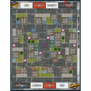 Privateer Press Monsterpocalypse  SALE! Monsterpocalypse: Obliteration Boulevard Fabric Play Mat - PIP51905 - 875582025778