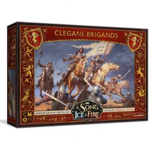 Cool Mini or Not A Song of Ice and Fire  House Lannister A Song of Ice and Fire: House Clegane Brigands - CMNSIF214 -