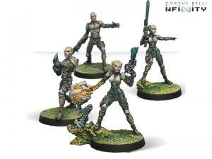 Corvus Belli Infinity  Tohaa Tohaa Kamael Light Infantry - 280911-0435 - 2809110004353
