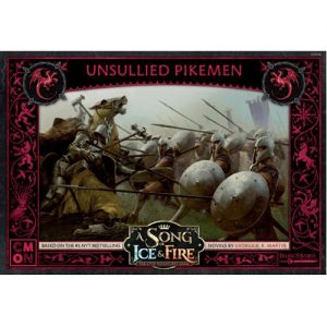 Cool Mini or Not A Song of Ice and Fire  House Targaryen A Song of Ice and Fire: Targaryen Unsullied Pikemen - CMNSIF606 - 889696010995