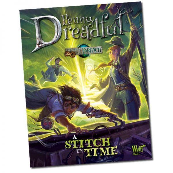 Wyrd Through the Breach  Through the Breach A Stitch in Time - WYR30207 - 9780997130454
