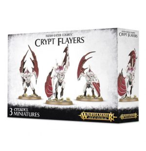 Games Workshop Age of Sigmar  Flesh Eater Courts Crypt Horrors / Flayers / Vargheists - 99120207033 - 5011921070404