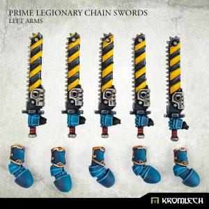 Kromlech   Legionary Conversion Parts Prime Legionaries CCW Arms: Chain Swords (left arms) - KRCB271 - 5908291070939