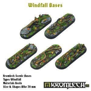 Kromlech   Windfall Bases Windfall bike 70x25mm (5) - KRRB028 -