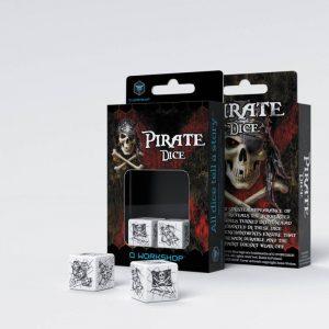Q-Workshop   Q-Workshop Dice Pirate 2D6 Dice (2) - 26PIR02 - 5907699491209