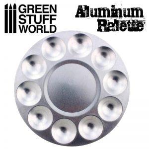 Green Stuff World   Paint Palettes Round Mixing Palette - 8436574500530ES - 8436574500530