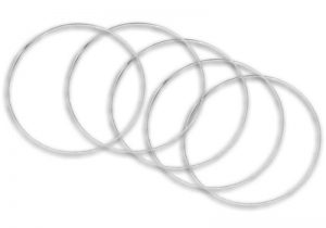 Outpost   Templates AoE Rings: Small (pack of 5) - OP-RING-SMAL -